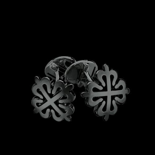 Calatrava-Black-Cufflinks