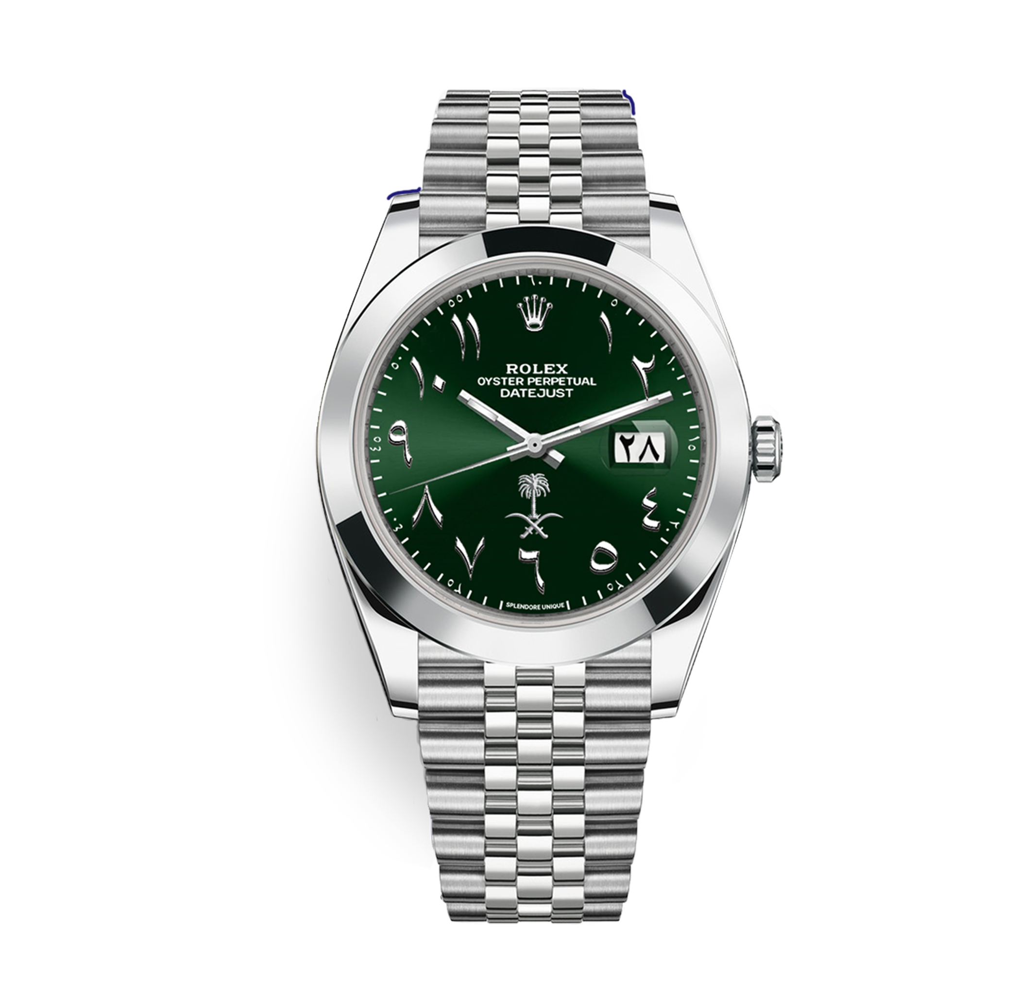 KSA DateJust 41 Green