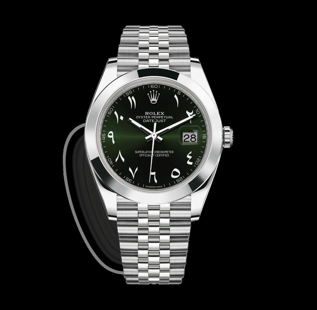 Green Hindic DateJust 41