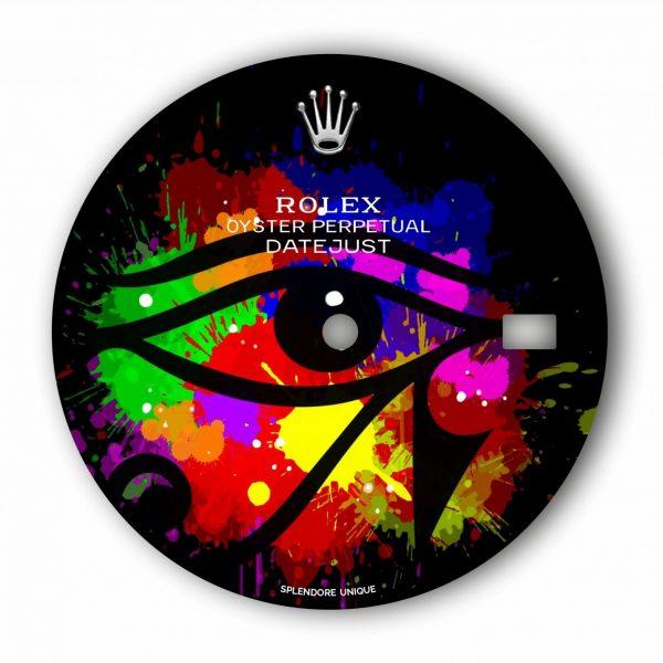 Eye of Horus DJ41 Dial by Sukesha Ray
