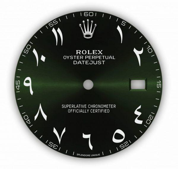 Green Hindi DJ41 Dial