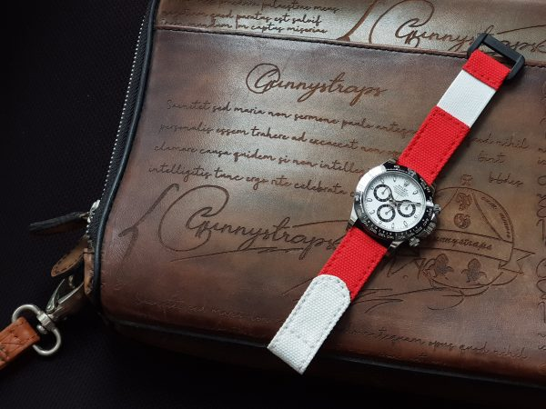 Red Gunny Canvas Strap