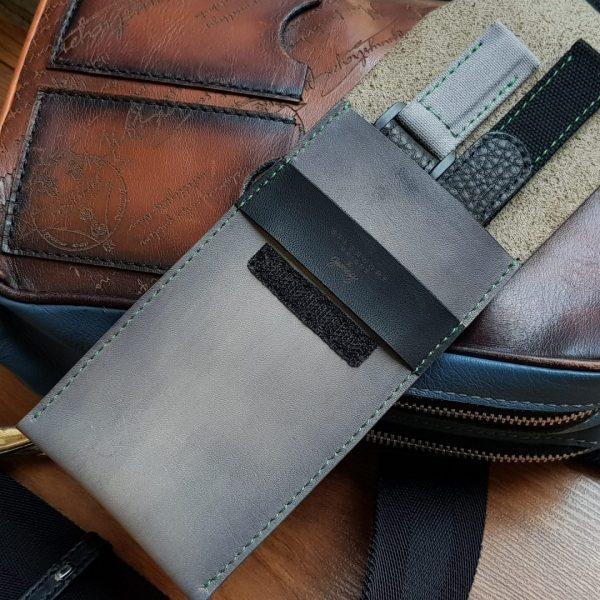 World Traveler Leather Watch Case 2
